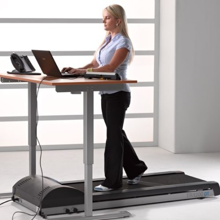 treadmill desk office