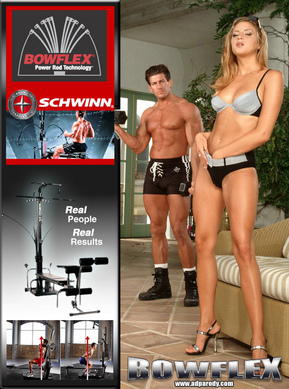 Dear Penthouse, You're not going to believe this, but I bought a Bowflex and two weeks later...