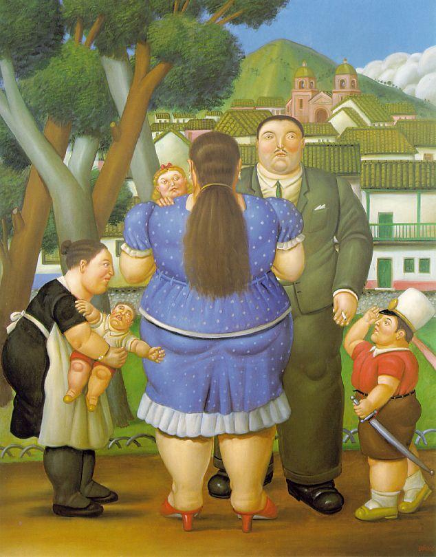 Fernando Botero - A Family