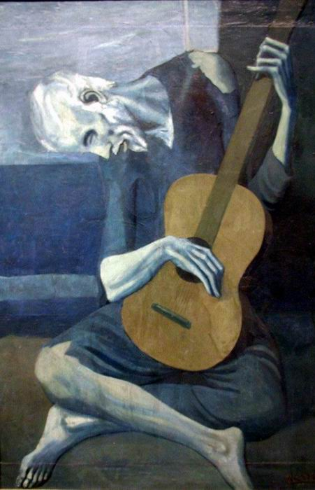 Picasso - the old guitarist