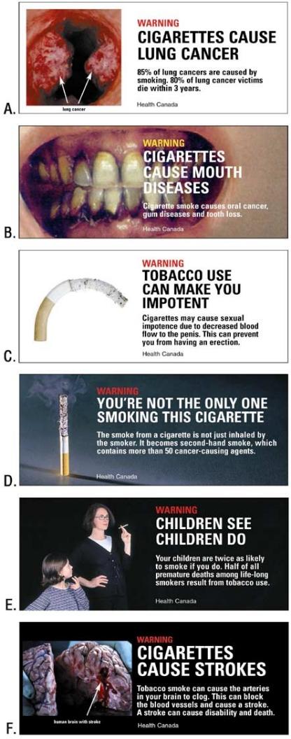 canadin antismoking ad