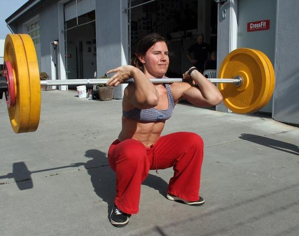 Crossfit builds fit females