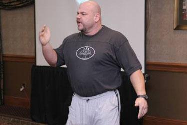 Dave Tate - powerlifting guru - pre-transformation