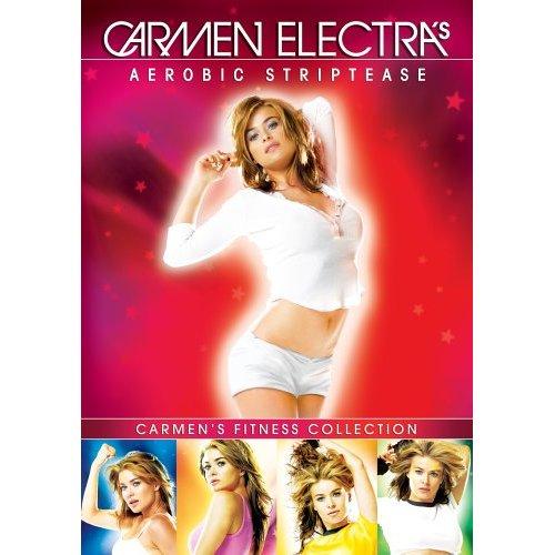 carmen electra aerobic striptease