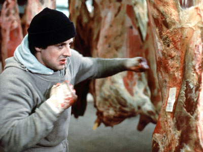 rocky boxing meat