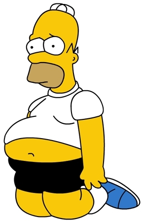 homer fat belly