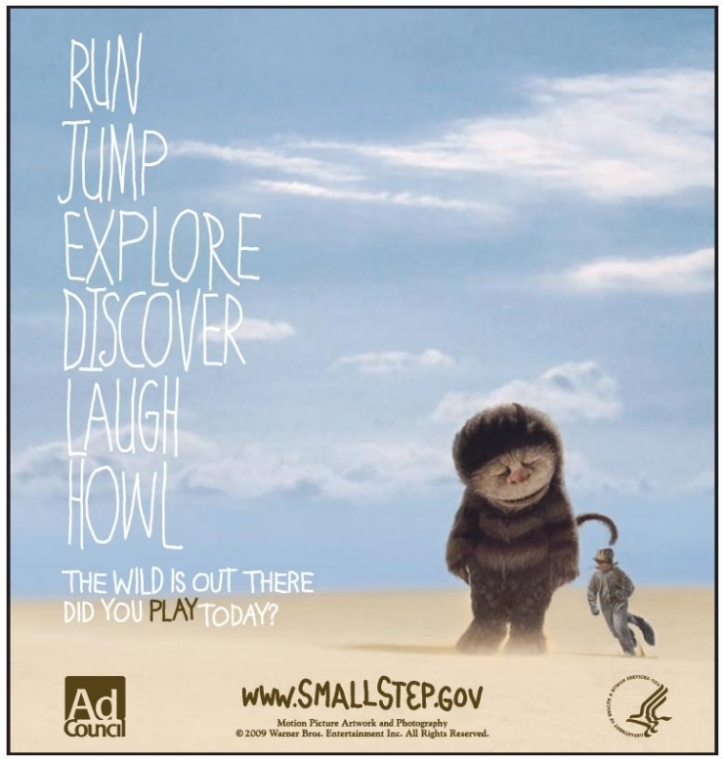 childhood obesity psa where the wild things are