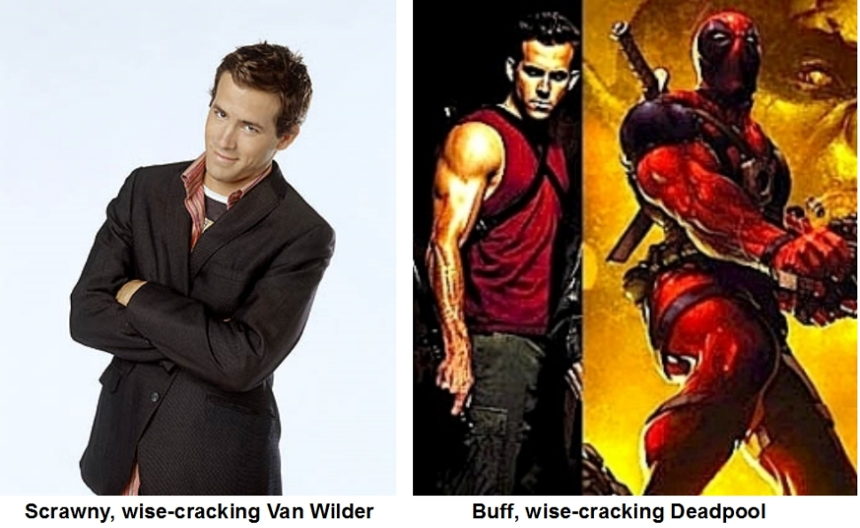 Ryan Reynolds Transformation