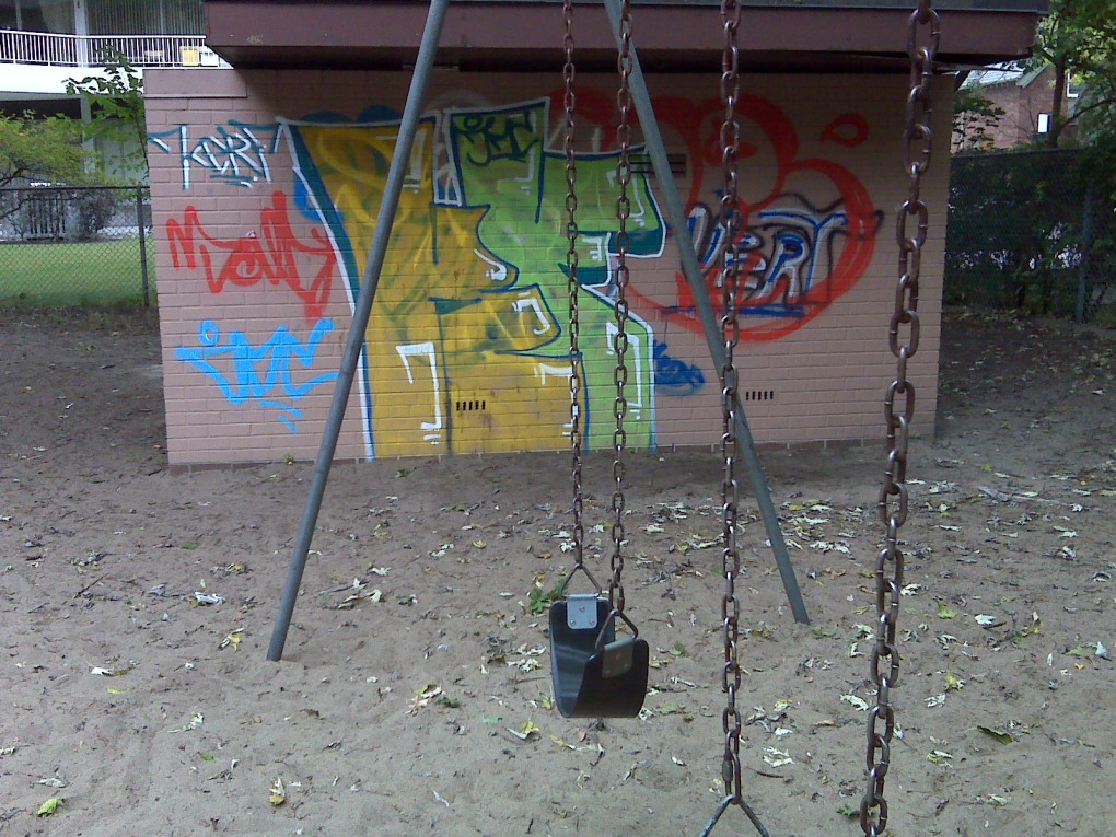 playground graffiti
