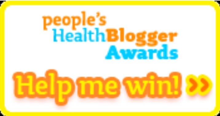 wellsphere peoples health blogger award help me