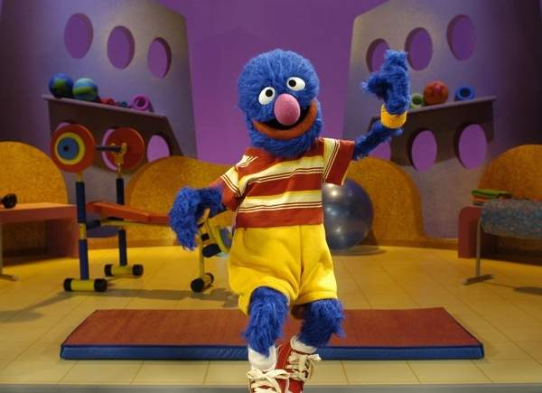 grover sesame street exercise