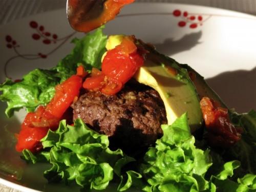 Ostrich-Burger