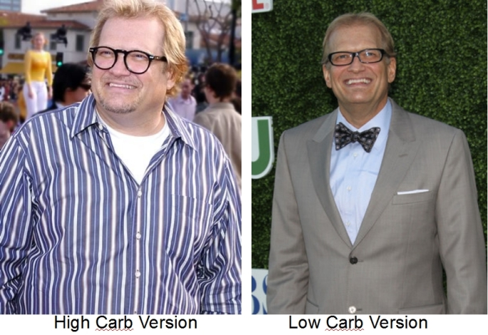 Drew Carey goes low carb - loses weight and reverses his type 2 diabetes