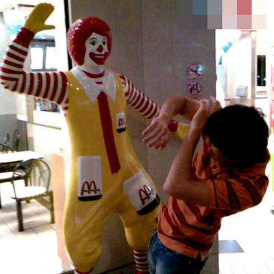 mcdonalds bitch slap