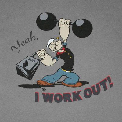 Popeye workout