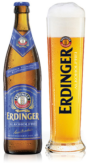 erdinger non-alcoholic beer for athletes