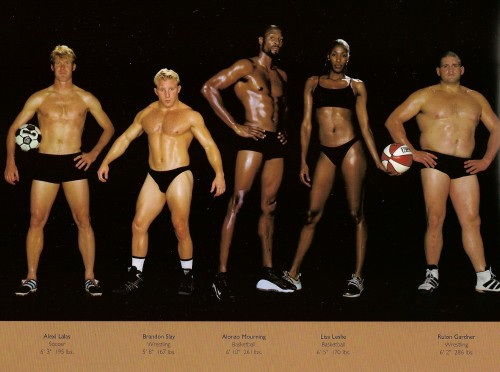 athletes - diff sizes and shapes 3