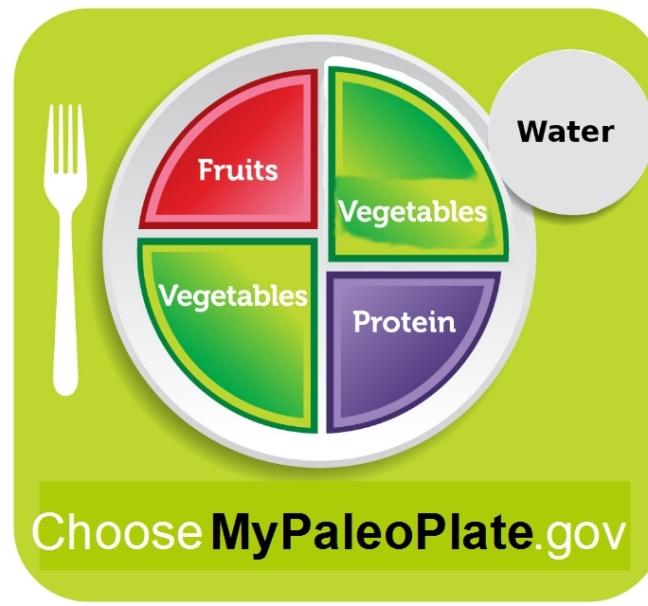 choose my paleo plate - pale version of choose my plate usda obama