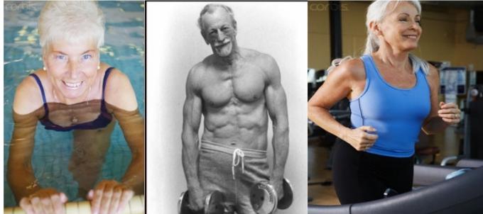 seniors exercise fitness