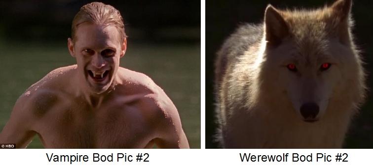 best body - vampire vs werewolf #2