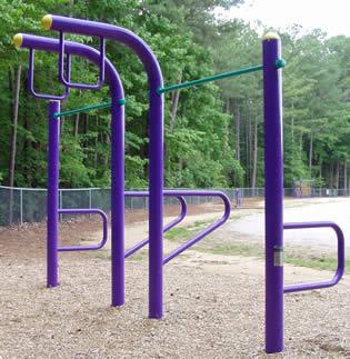 Outdoor Fitness Equipment - Uneven Bars