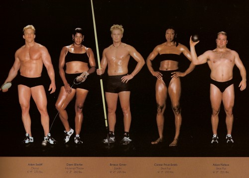 athletes - diff sizes and shapes 15