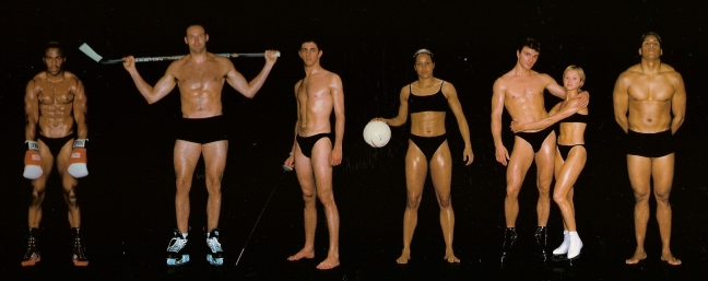 athletes - diff sizes and shapes 18