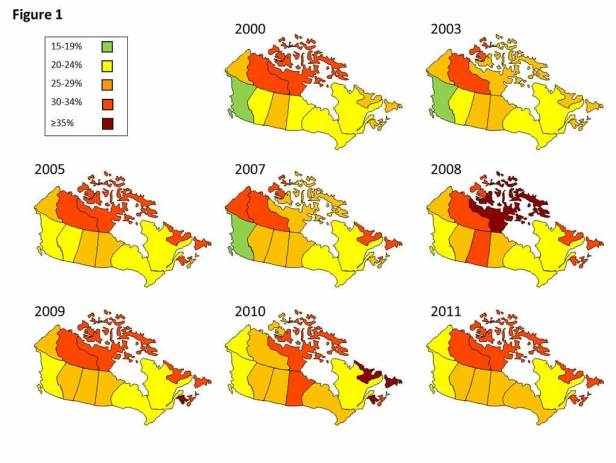 canadian-obesity-map