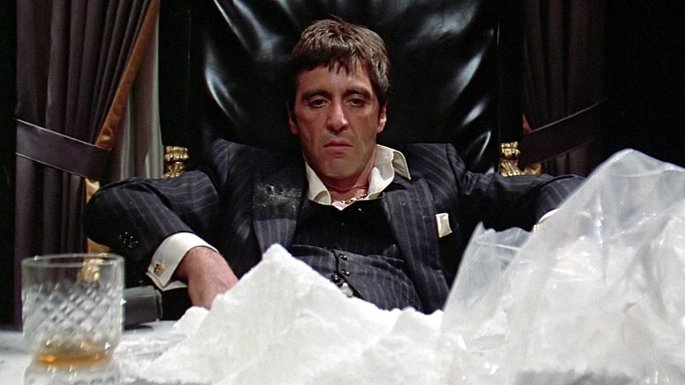 cocaine tony montana