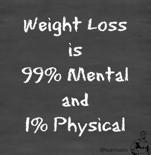 Weight Loss is 99 Mental