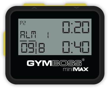 gymboss-interval timer
